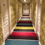 colourful hallways and corridors