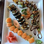 Amazing sushi!!! What a great addition to the to Delavan!