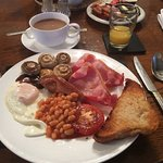 Fantastic cooked breakfast.