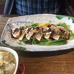 Tuna Tataki, Sushi Wara 2082 Comox Ave, Comox