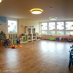 FIPS Kinderwelt - das Spielzimmer an der Rezeption