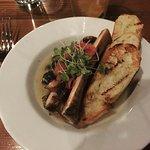 escargot with bone marrow
