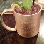 They have 6 different mule drinks on the menu!