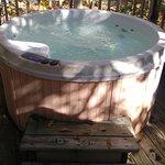 hot tub on the decks