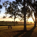 Outside the Vineyard Retreat - take in the vines and sunset together