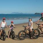 Hire beach bikes