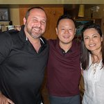 Chef Jet Tila with my wife and I.