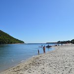 Tallebudgera Creek safe swimming beach area with resident Life Guards - Swim Between the Flags!