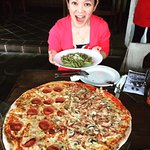 family size Huge Pizza awesome yummie must try