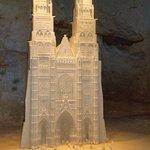 Pour moi le bijou de l'exposition, la Cathédrale de Tours