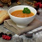 Winter warming soup.