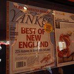 Clam Shack appears in Yankee Magazine - one of the best lobster shacks in New England!