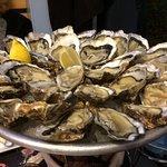 Le plat d'huîtres : délicieuses !