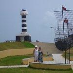 le phare et la placette pontal do coruripe