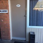 Front door - and ash tray