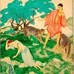 Ariadne and Bacchus, by Edmund Dulac (1882-1953)