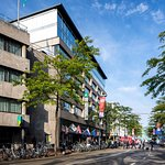 Right in the heart of the bustling city centre of Eindhoven