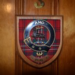 One of the many Named room crests