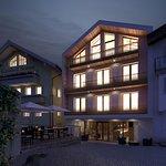 Stammhaus mit Design-Neubau