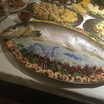 Lovely buffet on Saturday