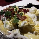 The Loaded Baked Potato...it was HUGE!!