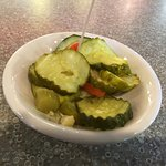 Isaac's - free pickle plate