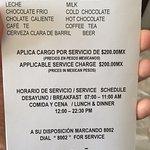 CARGOS OCULTOS DEL ROOM SERVICE