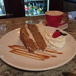 Carrot Cake with Cappuccino