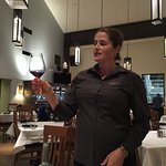 Cassandra our enthusiastic and knowledgable server