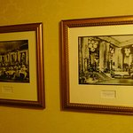 The rich history of the hotel is everywhere