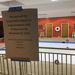 Pool closed - thanks for the notice.