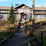 Main lodge where we stayed