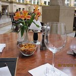Dining under the done at West Baden Springs Hotel