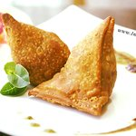 Veg App : Vegetable Samosa (Dairy-Free, Vegan)