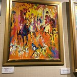 Leroy Nieman painting for sale in the auction house