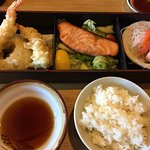 Lunch Bento box with Salmon - Awesome!!
