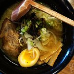 Miso Ramen- that Pork is soooo good. Why is there only one piece?