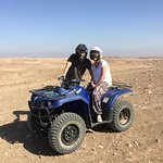Us and the desert!