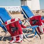 Use our complimentary beach chairs and relax on the pristine Nantucket beachees