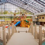 Indoor pool and waterpark