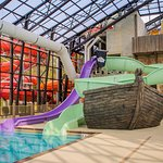Pirate's Cay indoor water slides