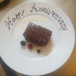 Complimentary dessert plate :)