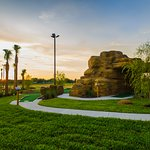 Play mini golf with family and friends at the resort