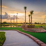 Enjoy a round of mini golf during your stay
