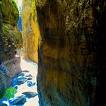 Beautiful gorge. A must see. Recommend hiking shoes.