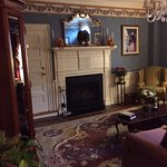 Main Parlor at entrance is large and relaxing