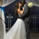 Jenny and Jo married on the Penthouse at sunset at Sandos Cancun Luxury Resort