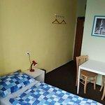 Nuestra pieza en Hostel Downtown