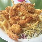 Shrimp 'n' Chips--Yum!