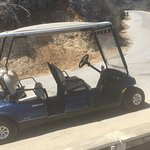 Rent a golf cart! Great way to see the island and a fun adventure!